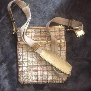 Woman's Coach cross body purse
